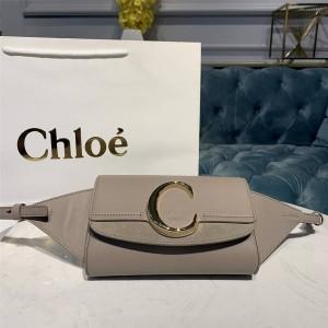 chloe new leather C buckle Bag waist bag chest bag shoulder bag