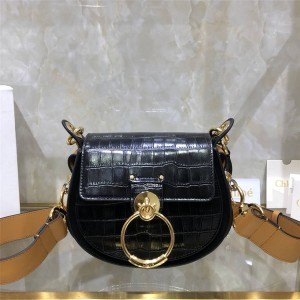 chloe official website new crocodile pattern small TESS bag handbag