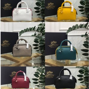 Delvaux official website leather Cool box Boston pillow bag