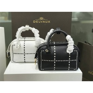 Delvaux official website new Cool Box Boston bag