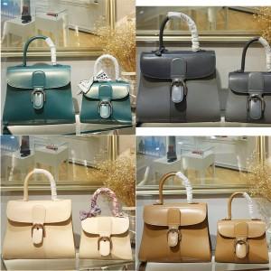 delvaux official website Box leather Brillant handbag
