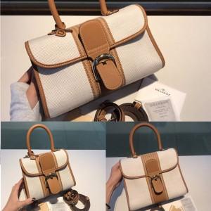 Delvaux new woven silk and linen Brillant handbag