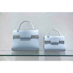 delvaux official website Box Calf leather Temppete handbag