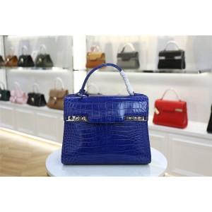 Delvaux official website crocodile leather Temppete handbag