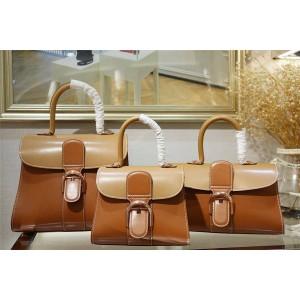 Delvaux official website three-color Brillant handbag
