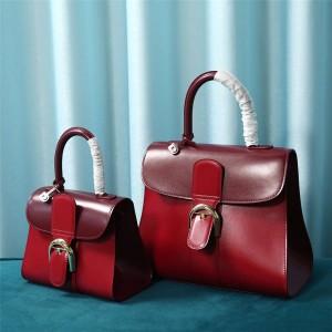 Delvaux official website handbags Box leather Brillant handbag