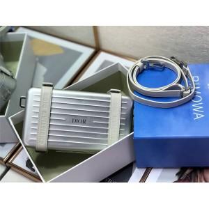 DIOR joint RIMOWA aluminum magnesium alloy clutch 2DRCA295