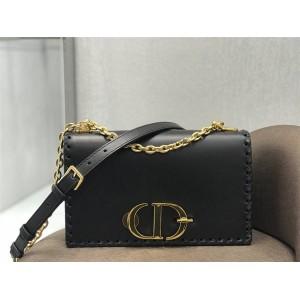 DIOR leather woven trim 30 MONTAIGNE chain bag M9220
