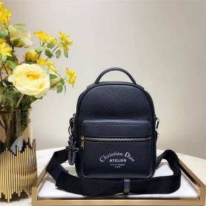 dior official website new leather Homme cross-body backpack chest bag