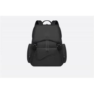 dior official website men's new black nylon backpack 1ADBA099