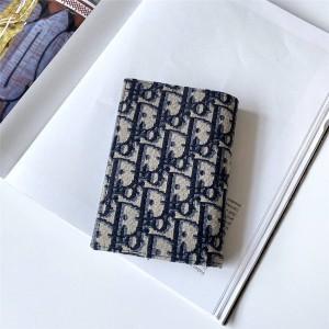 dior women wallet new OBLIQUE passport holder S5539
