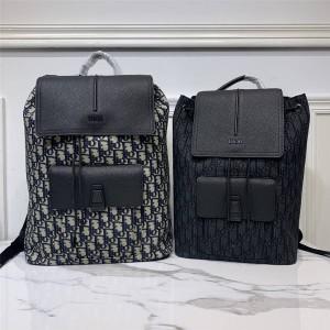 dior men's drawstring OBLIQUE MOTION backpack 1MOBA062