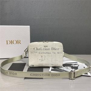 DIOR Men's Bag Printing AND DANIEL ARSHAM Camera Bag 2ARBC119