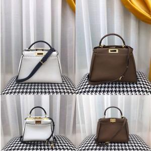 FENDI new female bag PEEKABOO outer stitching handbag