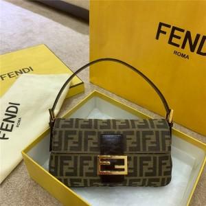 FENDI official website women's bag medium old flower baguette bag