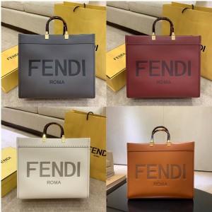 FENDI leather shopping bag TOTE bag 8BH372