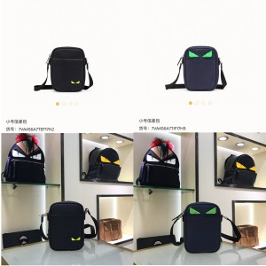 fendi official website leather Bag bugs eye messenger bag 7VA456