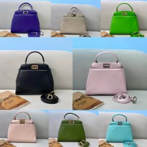 Fendi official website PEEKABOO ICONIC mini handbag 8BN244