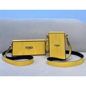 FENDI PACK box bag shape handbag 8BT339/8BT340