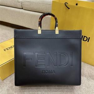 fendi new leather sunshine handbag shopping bag 8BH372