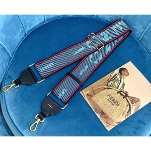 fendi new STRAP YOU blue ribbon shoulder strap 8AV134