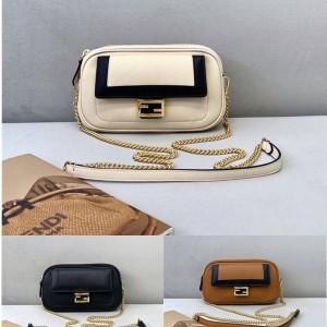 FENDI new EASY 2 BAGUETTE handbag messenger bag 8BS044