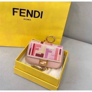 FENDI official website NANO BAGUETTE charm bag decoration 7AR844