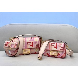 FENDI official website new ladies pink BAGUETTE handbag