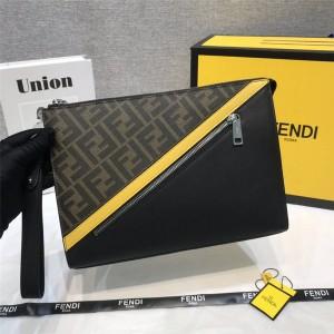FENDI official website new men's flat clutch 7VA491
