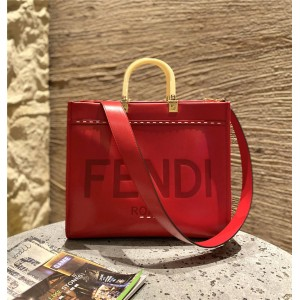 FENDI Shopper Medium Tanabata Sunshine Shopping Bag 8BH386