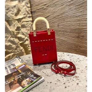FENDI Tanabata Limited Shopper Mini Sunshine Handbag 8BS051