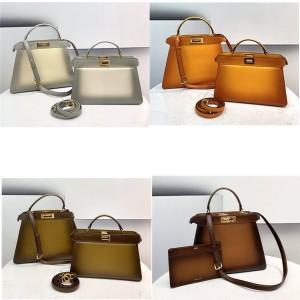 fendi PEEKABOO ISEEU gradient handbag 8BN323/8BN321