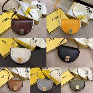 fendi Moonlight handbag saddle bag 8BT346