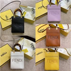 fendi Sunshine Mini Tote Bag Handbag 8BS051