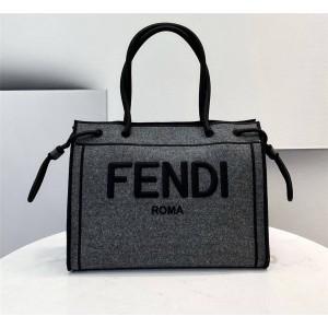 fendi flannel FENDI ROMA tote bag 8BH378