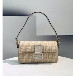 fendi wool BAGUETTE 1997 handbag 8BR792