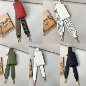 FENDI official website new wide shoulder strap mobile phone bag