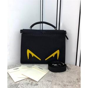 FENDI PEEKABOO Bag Bugs Eye Monster Slim Briefcase