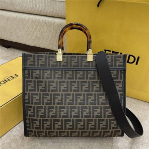 FENDI Sunshine FF pattern shopping bag 8BH386/8BH372