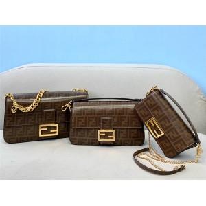 FENDI official website purchase FF pattern Baguette handbag