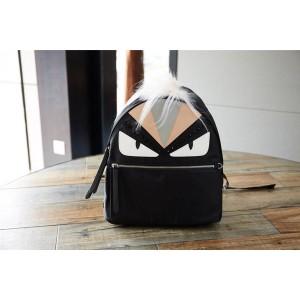 fendi Men's Bag Bugs Eye Monster Nylon Backpack