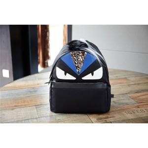 fendi official website Bag Bugs Eye Monster Nylon Large Backpack