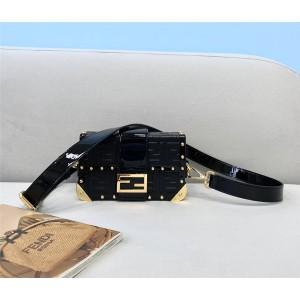 fendi Men's BAGUETTE TRUNK Mini Box Bag 7VA507