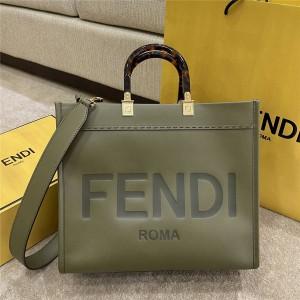 fendi female bag Sunshine leather shopping bag 8BH386/8BH372
