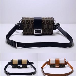 FENDI men's BAGUETTE handbag waist bag chest bag 7VA472