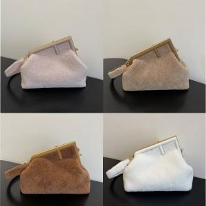 fendi wool FENDI FIRST medium handbag 8BP127