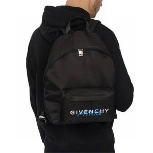 Givenchy men's backpack nylon printed PARIS back bag