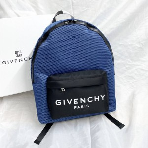 Givenchy official website men's nylon and leather backpack