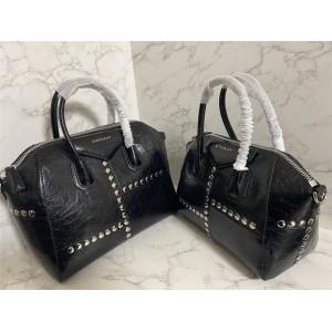 Givenchy official website crack rivet Antigona handbag