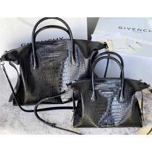 Givenchy's official website crocodile pattern Antigona Soft handbag